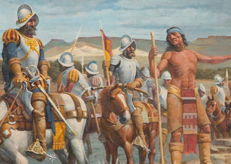 Coronado's Expedition Through Northwest Oklahoma