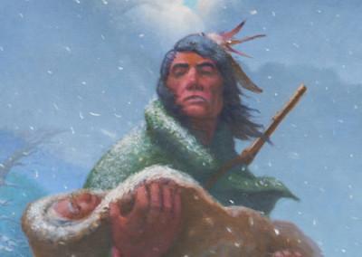 Choctaw Chief George Hudson